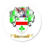 MacEtegart Round Car Magnet
