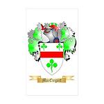 MacEtegart Sticker (Rectangle 10 pk)