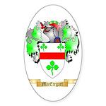 MacEtegart Sticker (Oval 10 pk)