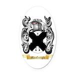 MacErrigle Oval Car Magnet
