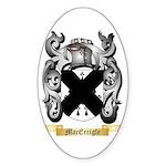 MacErrigle Sticker (Oval)