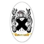 MacErrigle Sticker (Oval 50 pk)