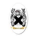 MacErrigle 20x12 Oval Wall Decal