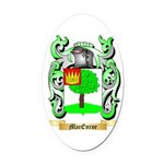 MacEnroe Oval Car Magnet