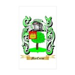 MacEnroe Sticker (Rectangle 50 pk)