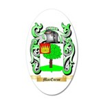 MacEnroe 35x21 Oval Wall Decal