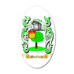 MacEnroe 35x21 Oval Wall Decal