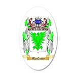 MacEnery 35x21 Oval Wall Decal