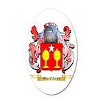 MacElveny 20x12 Oval Wall Decal