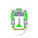 MacElhinney Oval Car Magnet