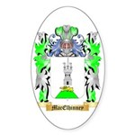 MacElhinney Sticker (Oval)