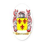 MacElgunn Oval Car Magnet