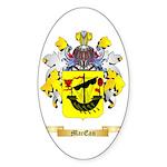 MacEan Sticker (Oval 50 pk)