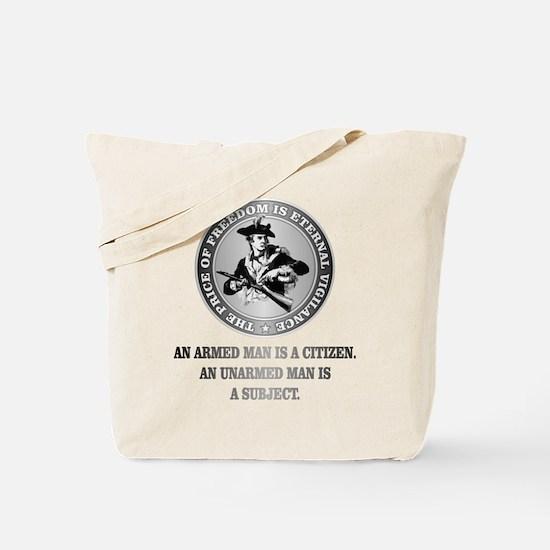 Patriot (Armed Citizen) Tote Bag