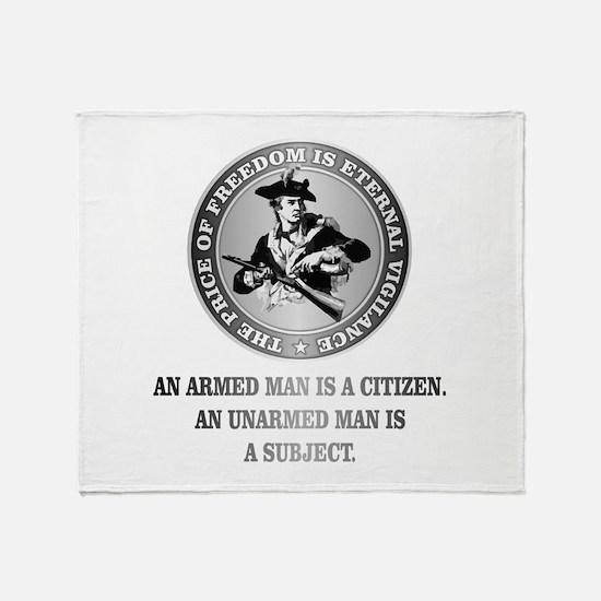 Patriot (Armed Citizen) Throw Blanket