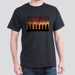 Easter Island Moai at Sunrise T-Shirt