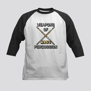 Weapons of Mass Percussion Kids Baseball Tee