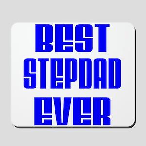 Best Stepdad Blue Mousepad