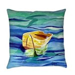 Boat at Sea Everyday Pillow