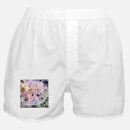 mod circles pattern Boxer Shorts