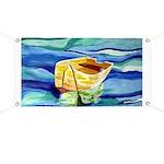Boat at Sea Banner