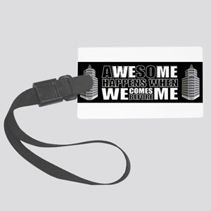 Business stickers Large Luggage Tag
