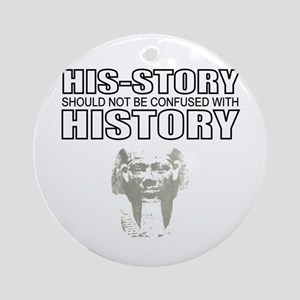 African American history Ornament (Round)