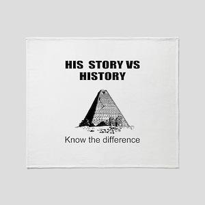 Black history Throw Blanket