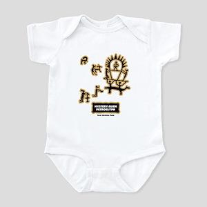 Mystery Alien Petroglyph Infant Bodysuit