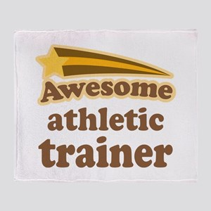 Awesome Athletic Trainer Throw Blanket