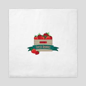 Fresh Berries Queen Duvet