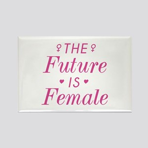 The Future Is Female Rectangle Magnet