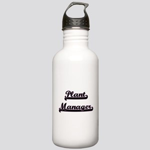 Plant Manager Classic Stainless Water Bottle 1.0L