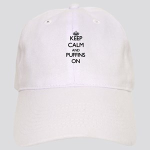 Keep calm and Puffins On Cap