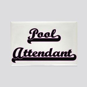Pool Attendant Classic Job Design Magnets