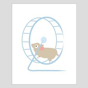Hamster Wheel Posters
