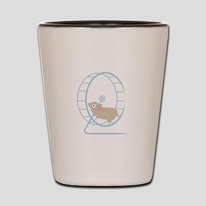 Hamster Wheel Shot Glass