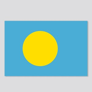 Palau Flag Postcards (Package of 8)