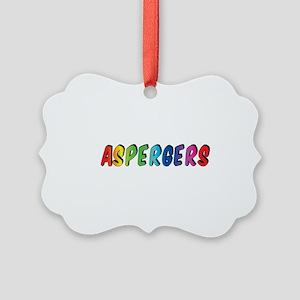 Aspergers Ornament
