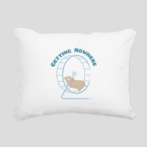 Getting Nowhere Rectangular Canvas Pillow