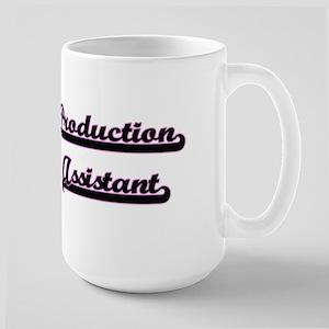 Production Assistant Classic Job Design Mugs