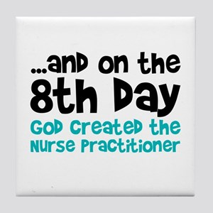 Nurse Practitioner Creation Tile Coaster