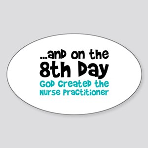 Nurse Practitioner Creation Sticker