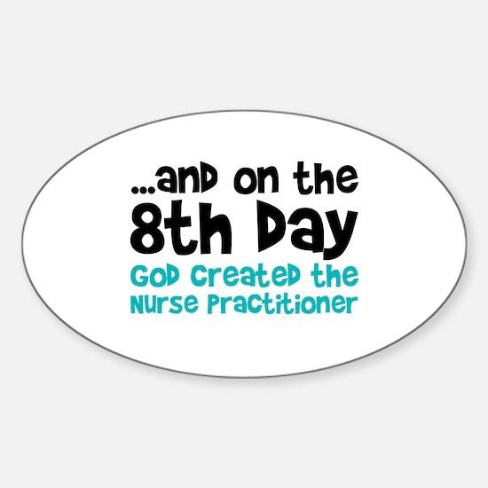 Nurse Practitioner Creation Decal