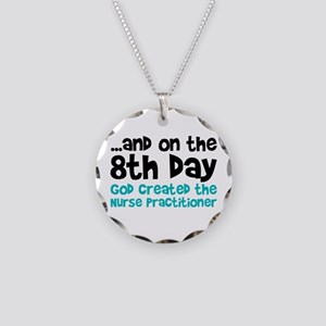 Nurse Practitioner Creation Necklace Circle Charm