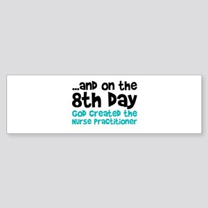 Nurse Practitioner Creation Bumper Sticker