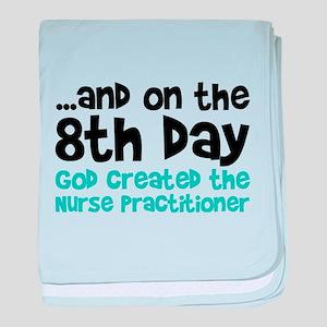 Nurse Practitioner Creation baby blanket