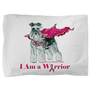 Schnauzer Warrior Pillow Sham