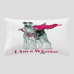 Schnauzer Warrior Pillow Case
