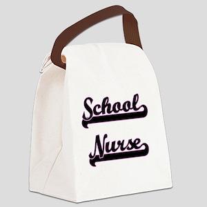 School Nurse Classic Job Design Canvas Lunch Bag